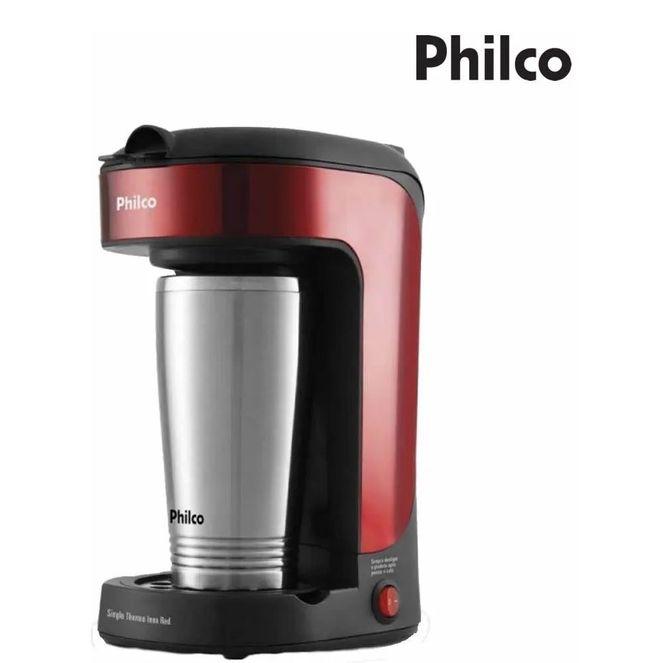 Cafeteira-Philco-Thermo-Inox-Red-Com-Copo-Termico-Portatil